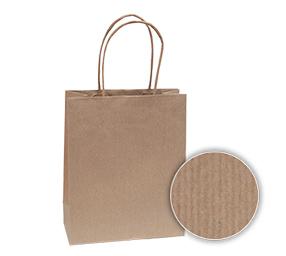 7ad0ae29e0 Tašky s krúteným uchom z prúžkovaného papiera